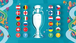 What countries play in the UEFA European Championship?