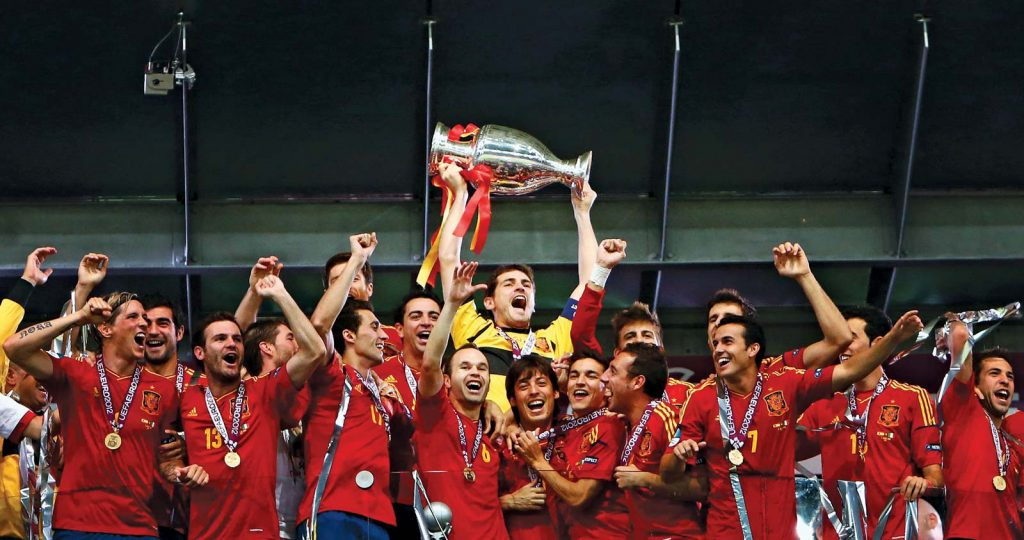 Who won the last euro cup?